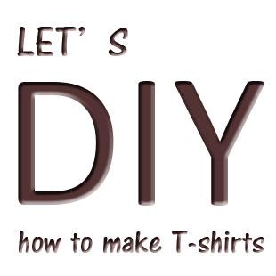 自分で作るオリジナルTシャツのイメージ